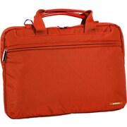 J World Jeanie Laptop Briefcase; Orange