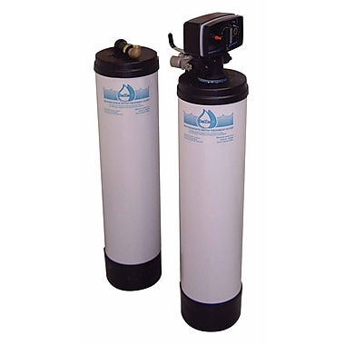 CuZn Backwashing Double Tank Whole House Filter