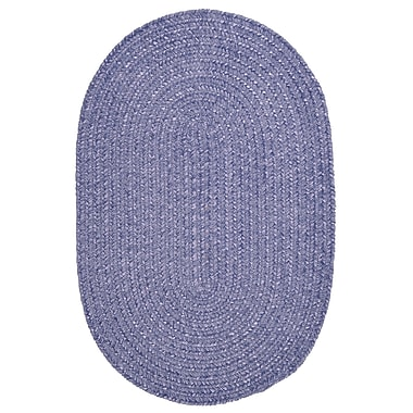 Colonial Mills Spring Meadow Amethyst Area Rug; Round 6'
