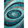 Rug Factory Plus Living Shag Blue/Gray Rug; 7'6'' x 10'2''