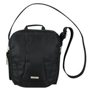 Travelon Anti-Theft Cross-Body Bag; Black