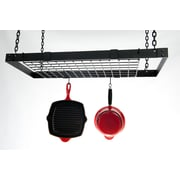 Advantage Components Expandable Rectangle Pot Rack; Powder Coated Black