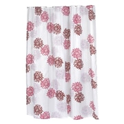Carnation Home Fashions ''Emma'' Shower Curtain