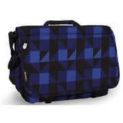 J World Thomas Messenger Bag; Block Navy