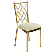 Commercial Seating Products Max Series Armless Stacking Chair; Gold