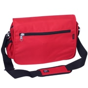 Everest Casual Messenger Bag; Red