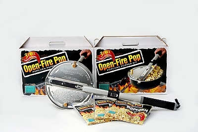 Wabash Valley Farms Open Fire 4 Quart Popcorn Popper Kit WYF078275584656