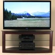 Transdeco 32'' -60''  Flat Panel TV Stand; Espresso