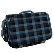 J World Thomas Check Messenger Bag; Navy