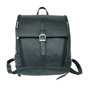 Piel Slim Computer Backpack; Black