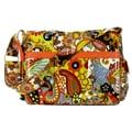 Hadaki Padded Multitasker Hannah's Paisley Messenger Bag