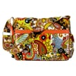 Hadaki Padded Multitasker Hannah's Paisley Messenger Bag