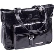 Clark & Mayfield Stafford Vintage Laptop Tote Bag; Black