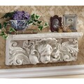 Design Toscano Cathedral Cherub Sculptural Wall Shelf