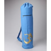 OMSutra OM Shiva Drawstring Yoga Mat Bag; Blue