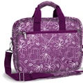 J World Executive Laptop Briefcase; Love Purple