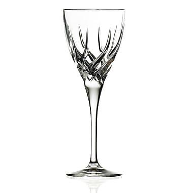 Lorren Home Trends Trix White Wine Glass (Set of 6)
