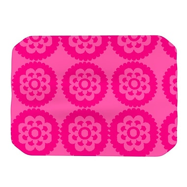 KESS InHouse Moroccan Placemat; Hot Pink