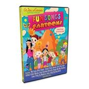 WaiLana Little Yogis Kids Fun Songs Cartoon DVD with Lyrics Book