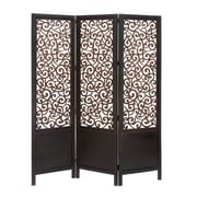 Woodland Imports 72'' x 60'' 3 Panel Room Divider