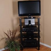 Tier One Designs Tier One Designs TV Stand; Black