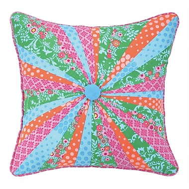 Sis Boom by Jennifer Paganelli Dial Linen Throw Pillow