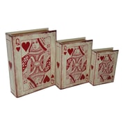 Cheungs 3 Piece Vinyl Queen of Hearts Book Box Set
