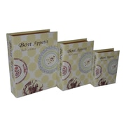 Cheungs 3 Piece ''Bon Appetite'' Vinyl Book Box Set