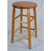 Dixie Seating Lincoln 24'' Bar Stool; Natural
