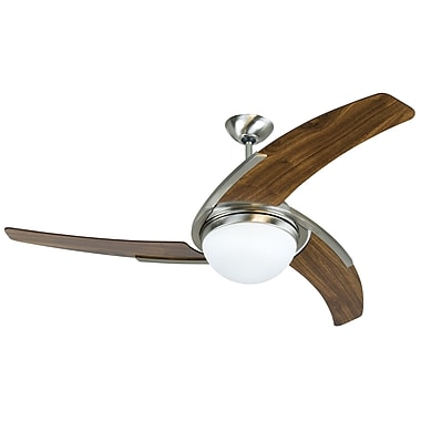Craftmade 54'' Juna Ceiling Fan; White with White Blades