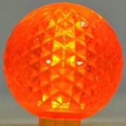 Queens of Christmas 1.7W LED Light Bulb (Pack of 10); Orange