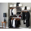 Orginnovations Inc Arrange a Space 11.75'' Deep Best Closet System; 84'' H x 80'' W x 11.75'' D