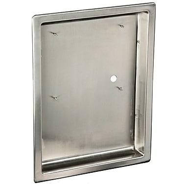 American Dryer ADA Dryer Recess Kit in Stainless Steel