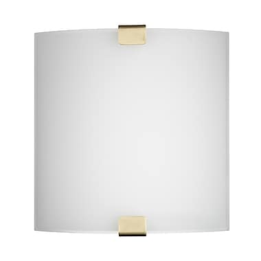 Philips Ashton 2 Light Wall Sconce w/ Glass Diffuser