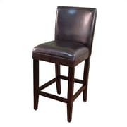 4D Concepts Deluxe Bar Stool with Cushion; Brown