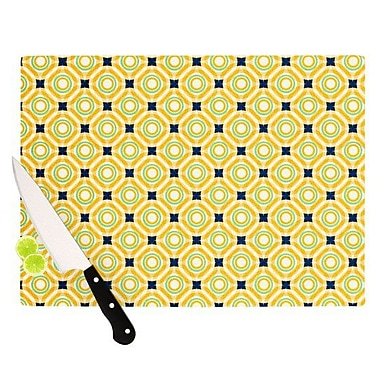 KESS InHouse Tossing Pennies II Cutting Board; 11.5'' H x 15.75'' W x 0.15'' D