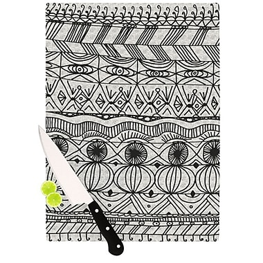 KESS InHouse Blanket of Confusion Cutting Board; 11.5'' H x 8.25'' W x 0.25'' D