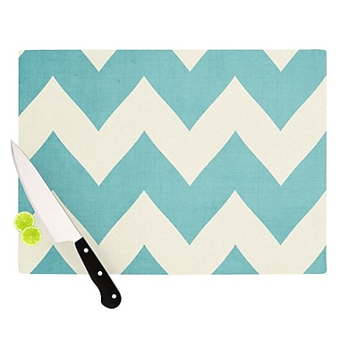 KESS InHouse Salt Water Cure Cutting Board; 11.5'' H x 8.25'' W x 0.25'' D