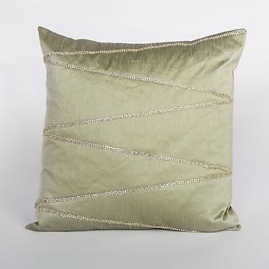 Debage Inc. Bling Wave Rhinestone Throw Pillow