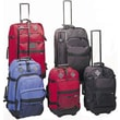Preferred Nation Outdoor Gear Upright 4 Piece Luggage Set; Blue