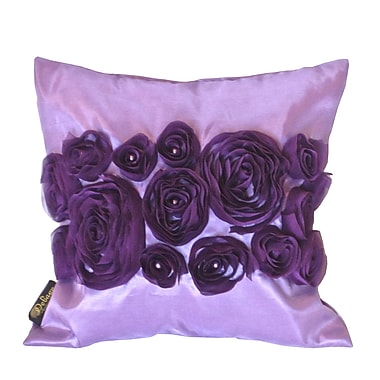Debage Inc. Spring Flower Throw Pillow; Purple