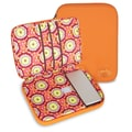 Amy Butler Nola Laptop Wrap; Buttercups Tangerine