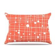 KESS InHouse Woven Web I Pillowcase; King