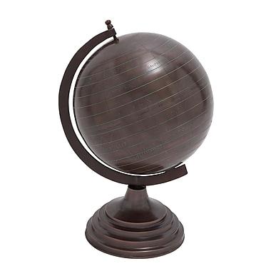 Woodland Imports Metal Globe; Small