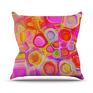 KESS InHouse Spring Throw Pillow; 18'' H x 18'' W