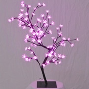 Queens of Christmas Cherry Tree Lighting Bulb; Pink