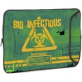 Designer Sleeves Bio-Infectious Designer PC Sleeve; 15''