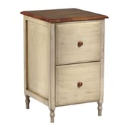 OSP Designs 2-Drawer Country Cottage File Cabinet