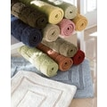 Luxor Linens Bliss Egyptian Cotton Luxury Bath Mat; Celery