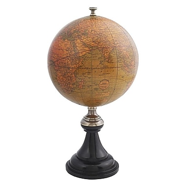 Authentic Models Versailles Globe in Bronze and Brass
